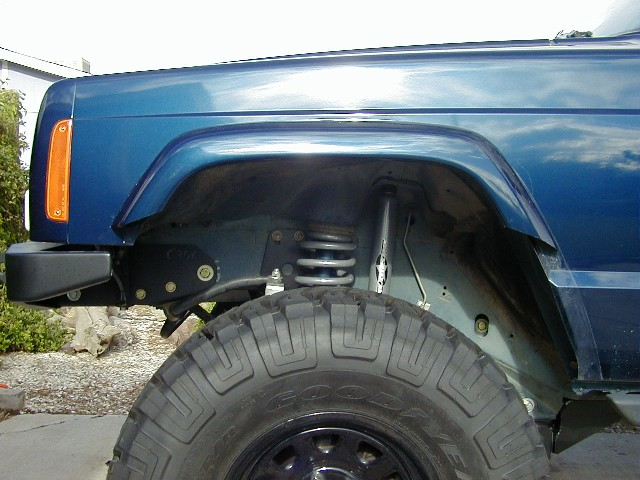 Another Fender Trimming Thread With Pics Jeepforum Com