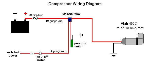 Wiring Diagram Likewise 12 Volt Air Pressor On A C Compressor Wiring on wiring diagram for hot water heater, wiring diagram for electric brakes, wiring diagram for hot water tank,