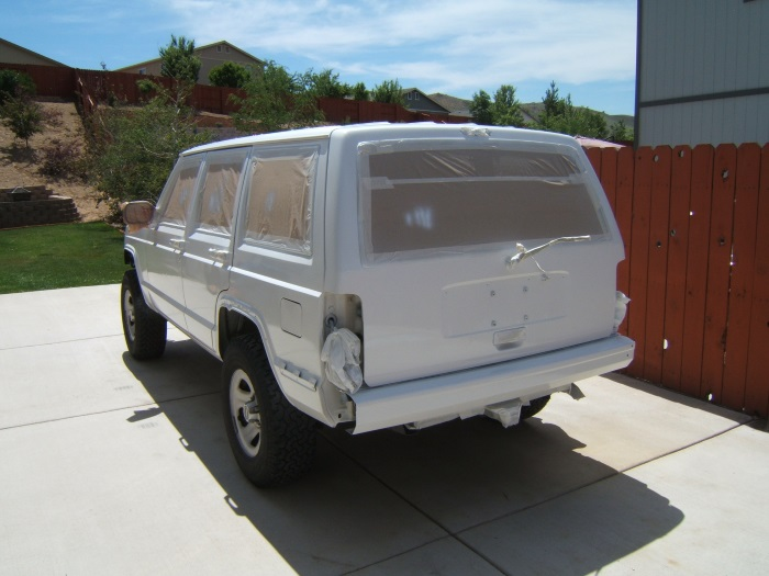 how much is a paint job on a jeep cherokee. Black Bedroom Furniture Sets. Home Design Ideas
